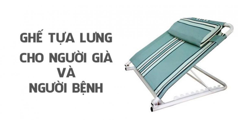 Ghế tựa lưng đặt trên giường cho người già và người bệnh tốt nhất ở Hà Nội và TP.HCM
