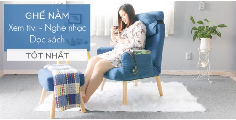 Những mẫu ghế nằm xem tivi  - nghe nhạc - đọc sách và thư giãn Tốt Nhất
