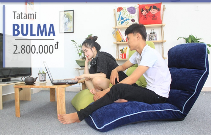 Ghế thư giãn đa năng Tatami Bulma