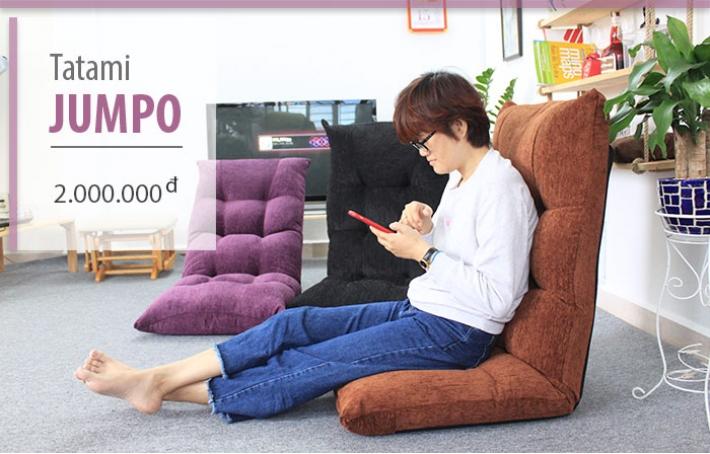 Ghế ngồi bệt đa năng Tatami Jumpo