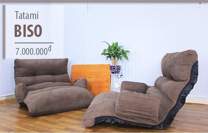 Ghế sofa bệt kiểu Nhật Tatami Biso