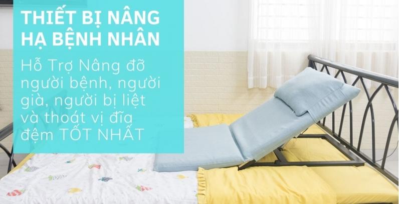 Những thiết bị nâng hạ bệnh nhân, hỗ trợ nâng đỡ, chăm sóc người bệnh, người bị liệt, bị thoát vị đĩa đệm tốt nhất