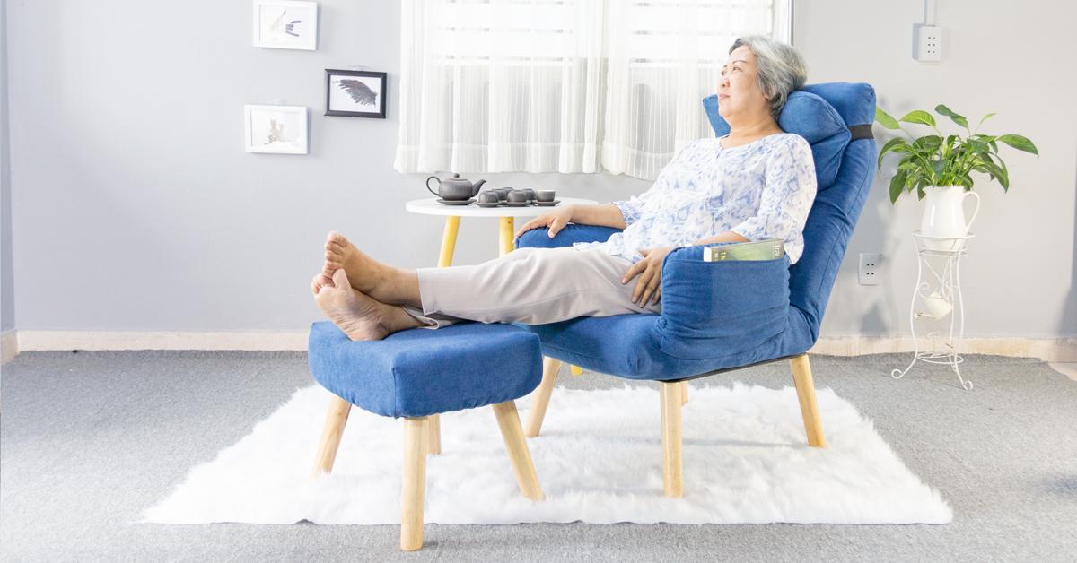 Ghế nằm xem tivi thư giãn