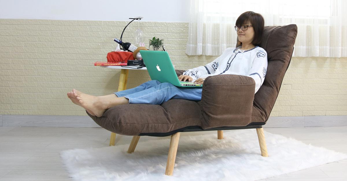 Ghế nằm xem tivi - nghe nhạc - đọc sách - thư giãn Tốt Nhất