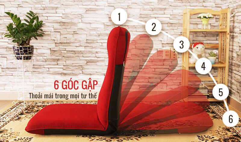 Ghế bệt tatami gấp được 6 góc