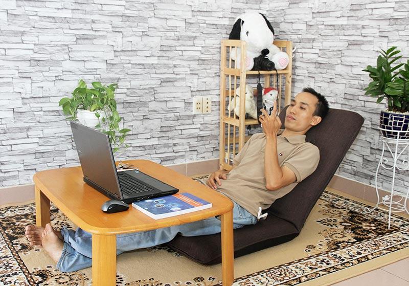 Thư giãn cùng ghế ngồi bệt Tatami Lite