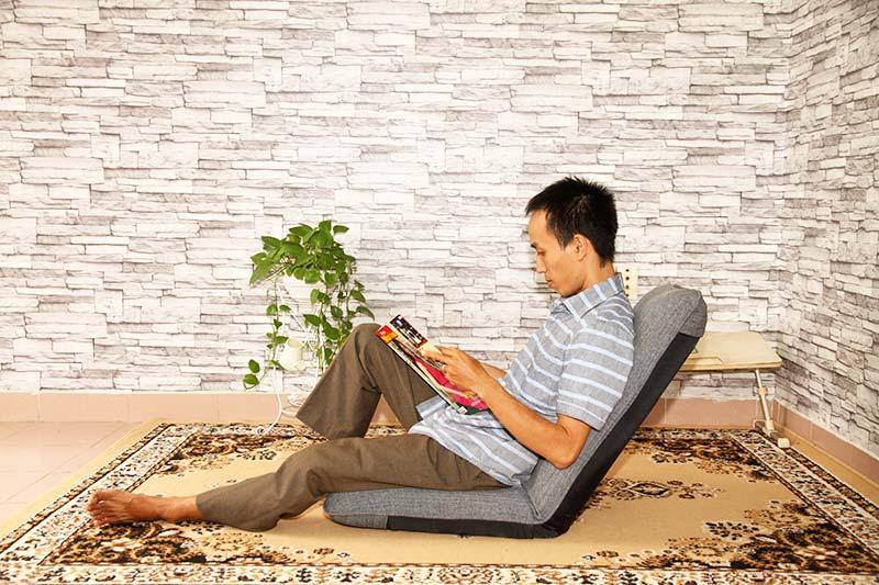 Thư giãn cùng ghế ngồi bệt Tatami Flat