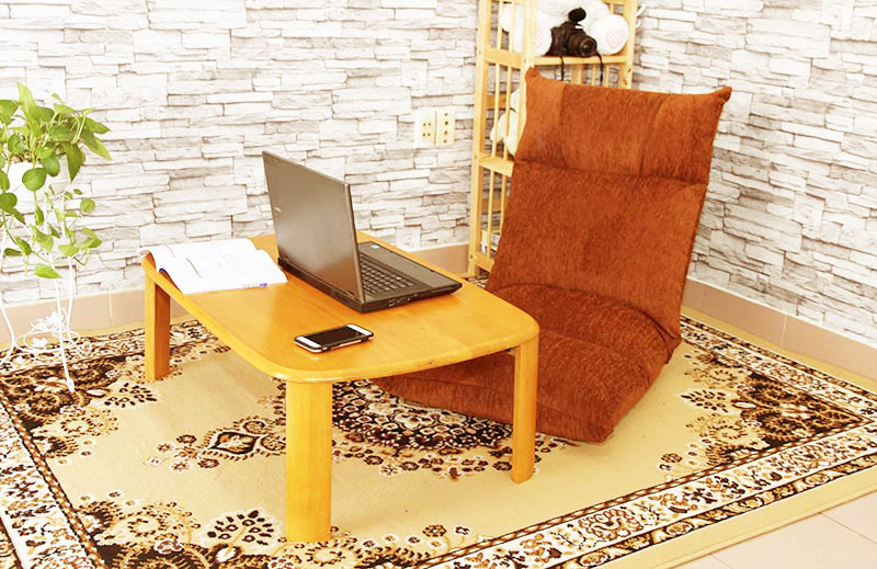 Ghế ngồi bệt Tatami Jumpo với thiết kế sang trọng và nổi bật