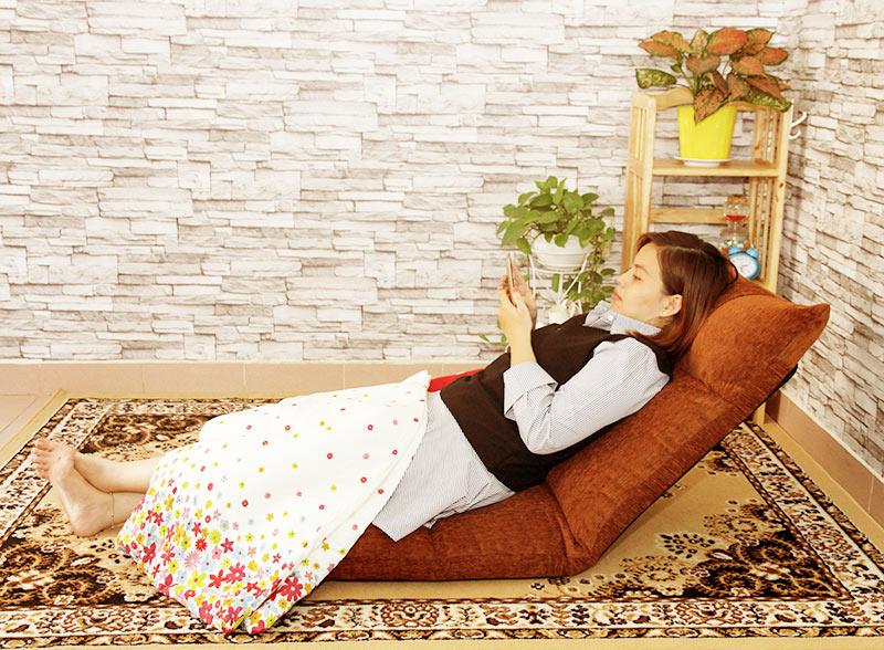 Nằm thư giãn cùng ghế ngồi bệt Tatami Jumpo