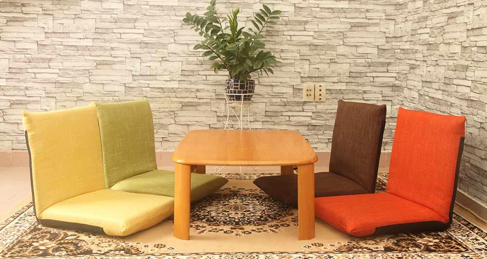 Ghế bệt Pisu Plus có nhiều màu lựa chọn
