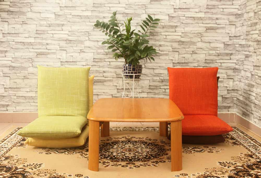 Bàn trà nhật và ghế bệt tatami