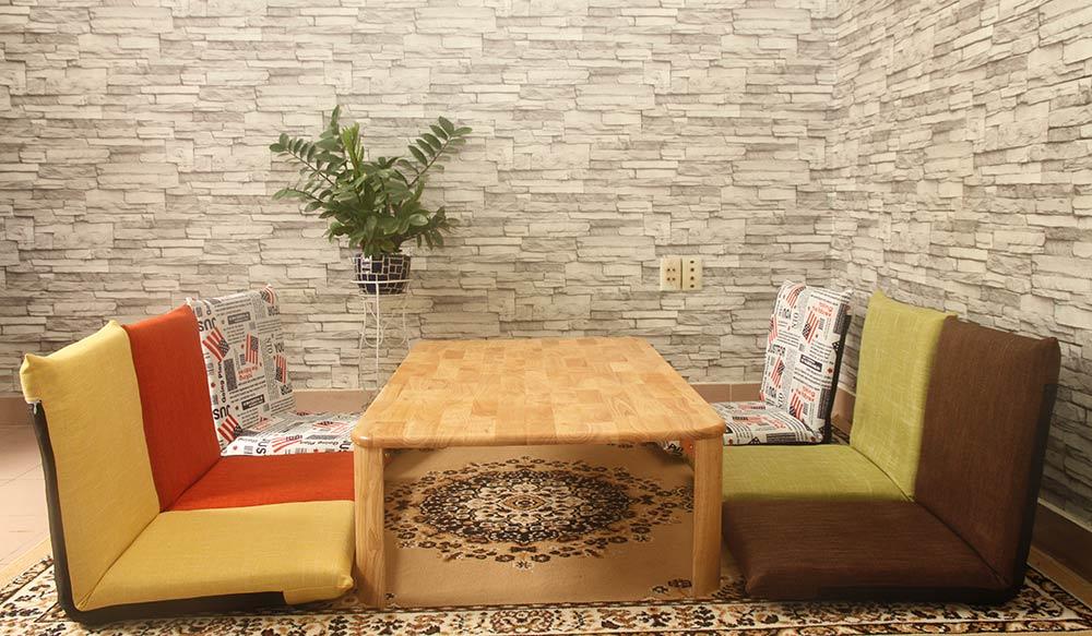Bộ bàn ghế bệt Pisu Plus
