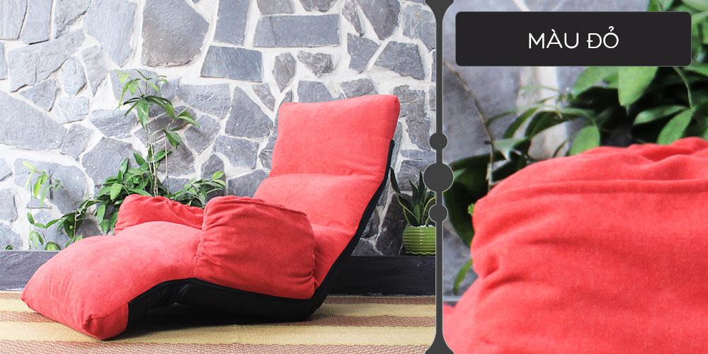 Màu vải ghế Tatami Fox đỏ