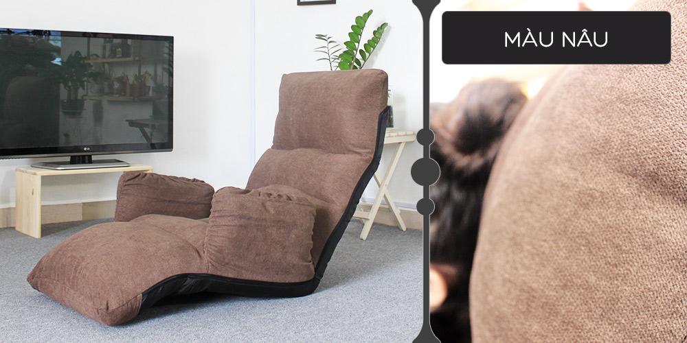 Màu vải ghế Tatami Fox nâu