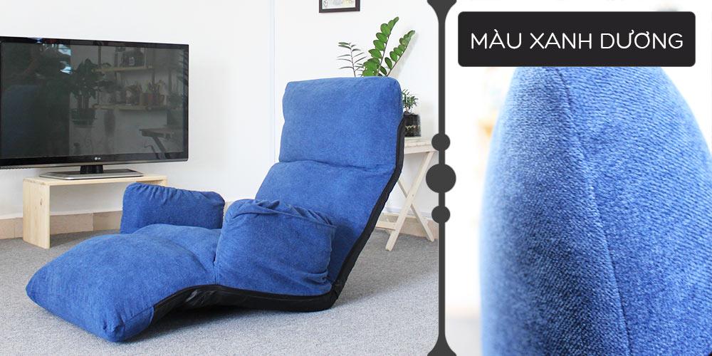 Màu vải ghế Tatami Fox xanh dương