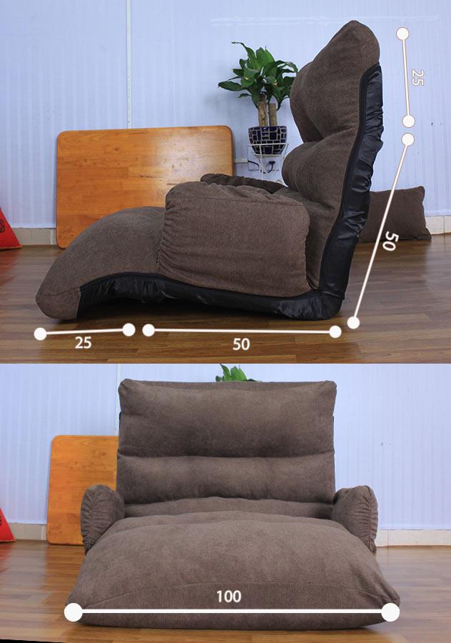 Kích thước ghế sofa bệt Biso