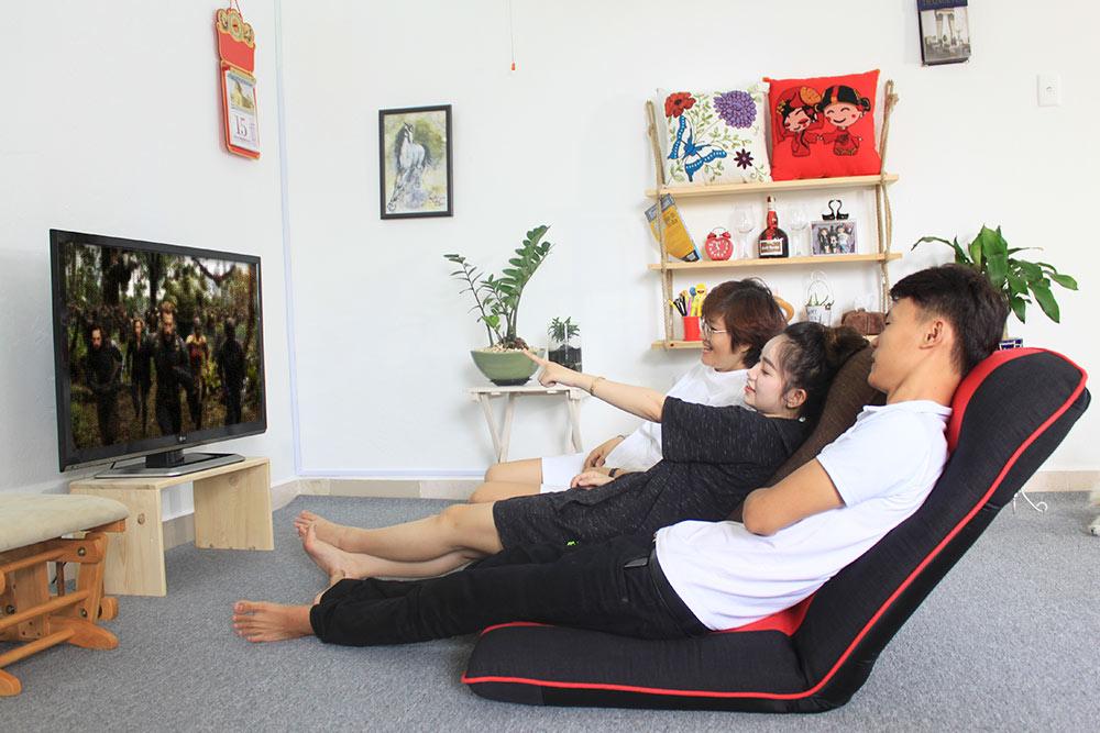 Nghỉ ngơi, thư giãn với ghế bệt đa năng Tatami Plus