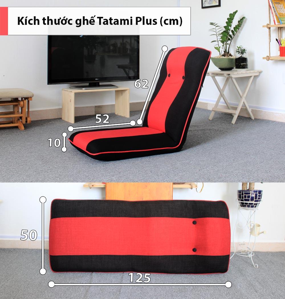 Kích thước ghế Tatami Plus
