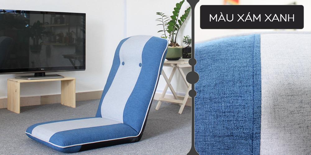 Màu vải ghế Tatami Plus xanh