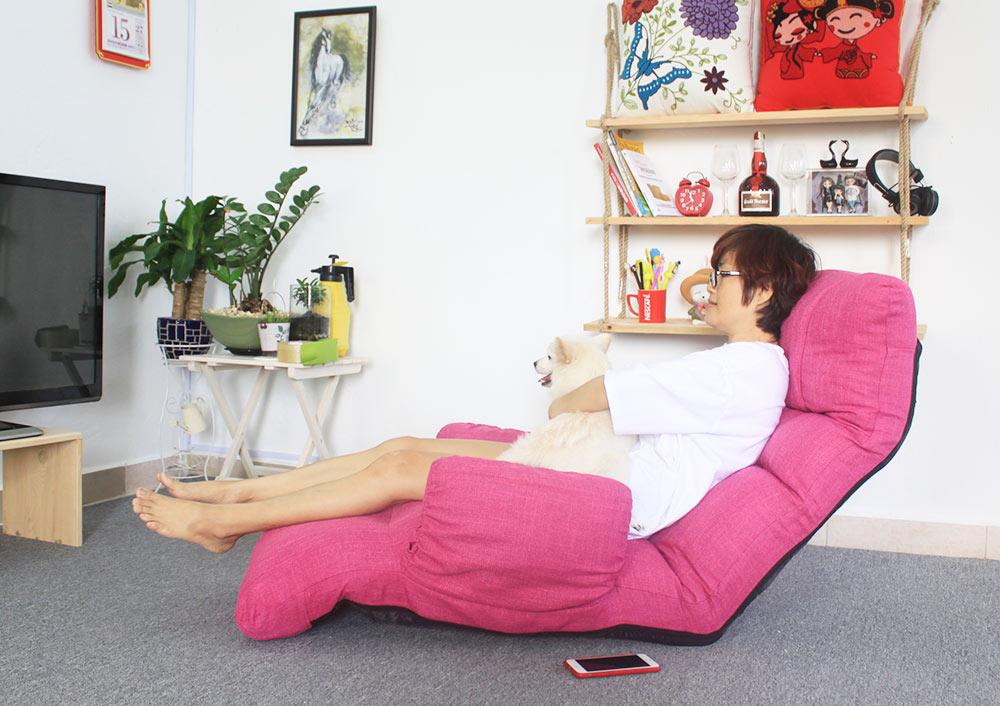 Ghế thư giãn đa năng Tatami Queen hồng