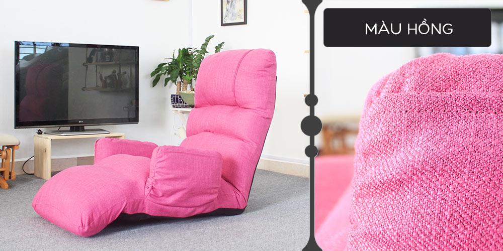 Màu vải ghế thư giãn đa năng Tatami Queen hồng